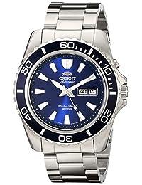 Orient Mens CEM75002D 200m Diver Watch21 Jewels Blue Watch