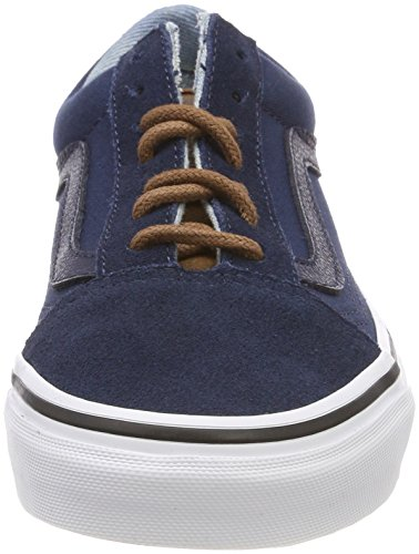 C Skool Unisex Azul Zapatillas Vans Yellow Adulto Old wS6711Yx