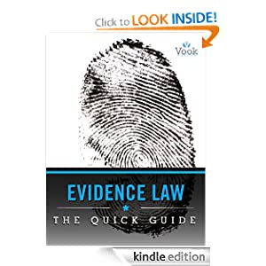 Evidence Law: The Quick Guide Vook