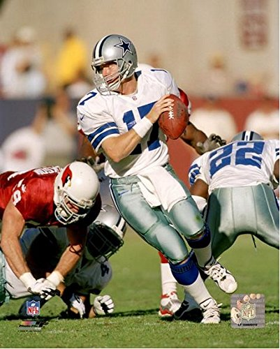 "Jason Garrett Dallas Cowboys NFL Action Photo (Size: 8"" x 10"")"