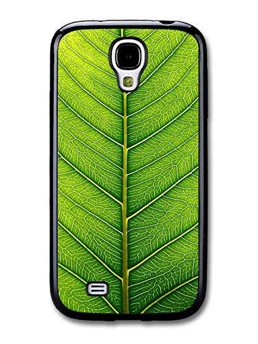 Green Leaf Close Up Cool Style Design coque pour Samsung Galaxy S4