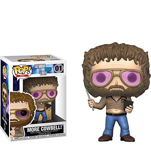 - Funko More Cowbell POP! SNL x Saturday Night Live Vinyl Figure + 1 American TV Themed Trading Card Bundle [#001 / 26773]
