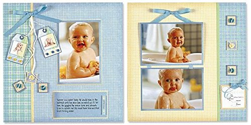 Almost Done Scrapbooking (Hot Off The Press - Almost Done Page Kits - Baby Boy)