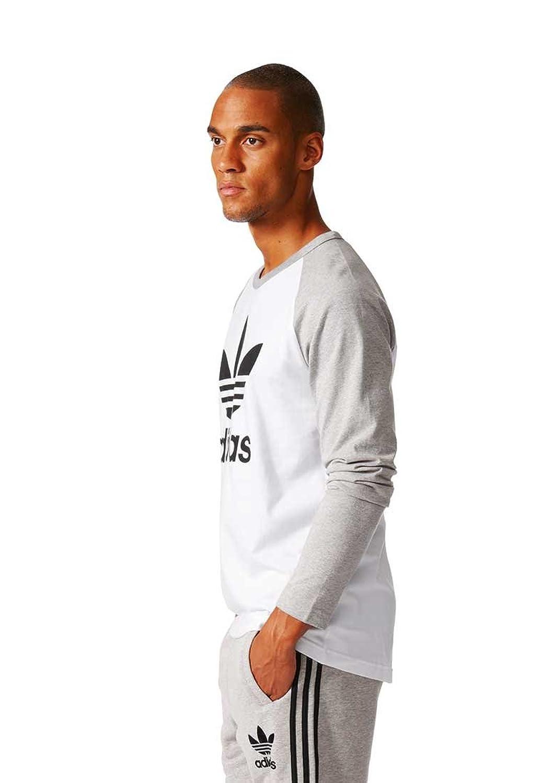 adidas Men's Jumper white Wei?