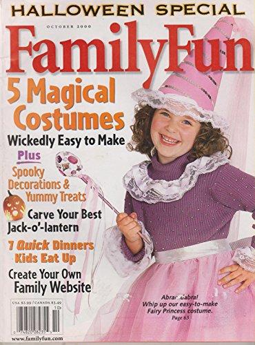 Family Fun October 2000 Halloween