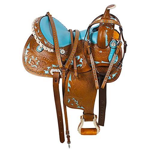 AceRugs New Western Horse Barrel Racer Saddle