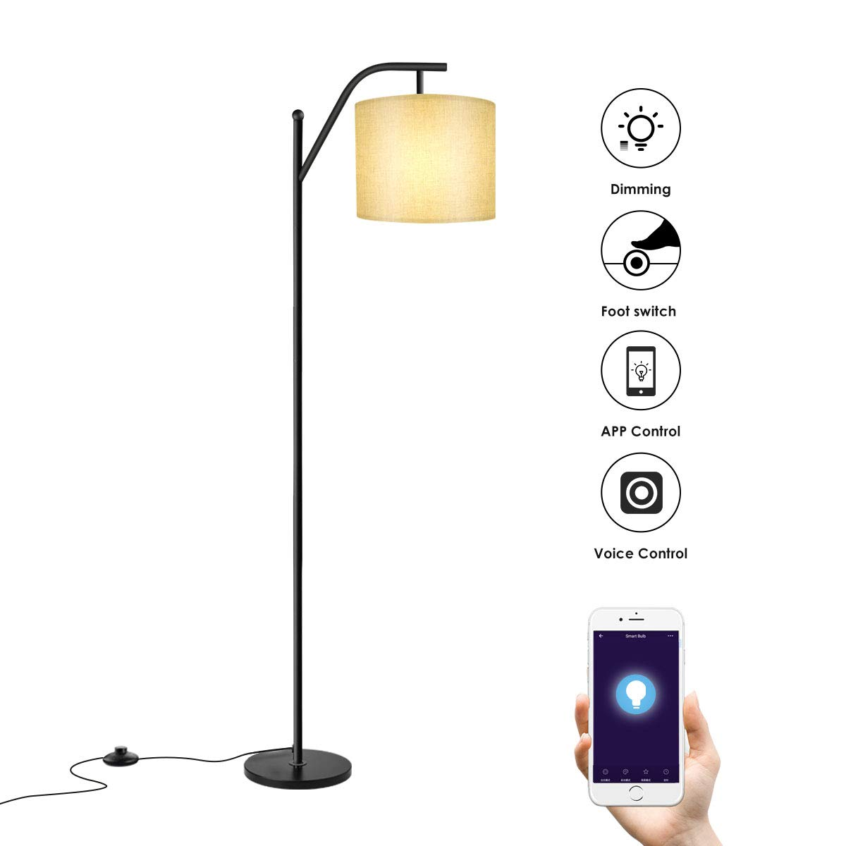 Best Remote Control Floor Lamps For Living Room - Home Easy