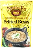 Santa Fe Bean Co, Instant Southwestern Style Refried Beans, 7.25-Ounce Pack (Pack of 8)