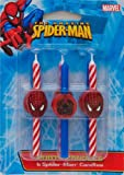 DecoPac Spider-Man Candles – Box = 6, Health Care Stuffs