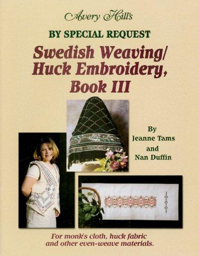 Amazon Avery Hill Swedish Weavinghuck Embroidery Book