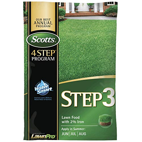 Scotts 33040 Step-3 Lawn Food with 2% Iron, 5000 Sq Ft Coverage ()