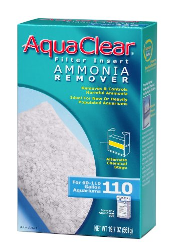 Remover 110 Ammonia - AquaClear 110 Ammonia Remover Insert - 19.7 Ounces