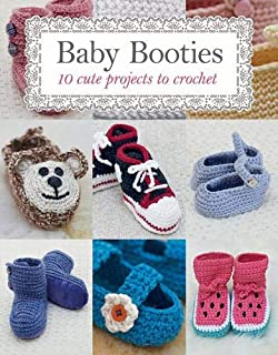 37f2e4e8a450 Crochet Baby Booties  10 Lovely Crochet Baby Booties Patterns  Mia ...