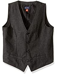 The Children's Place Boys' Big Boys' Herringbone Vest