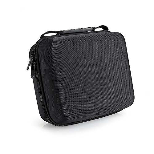 Pergear Portable Carrying Case for Feelworld FW759 FW760 F7 FW759P FW74K A737 FH7 Lilliput A7S Aputure VS-1 VS-2 FineHD and other 7 Inch DSLR Video Monitors by PERGEAR
