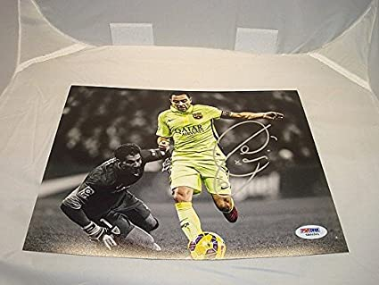 99558123a Xavi Hernandez Signed Auto FC Barcelona 8x10 Picture Soccer Signed ...