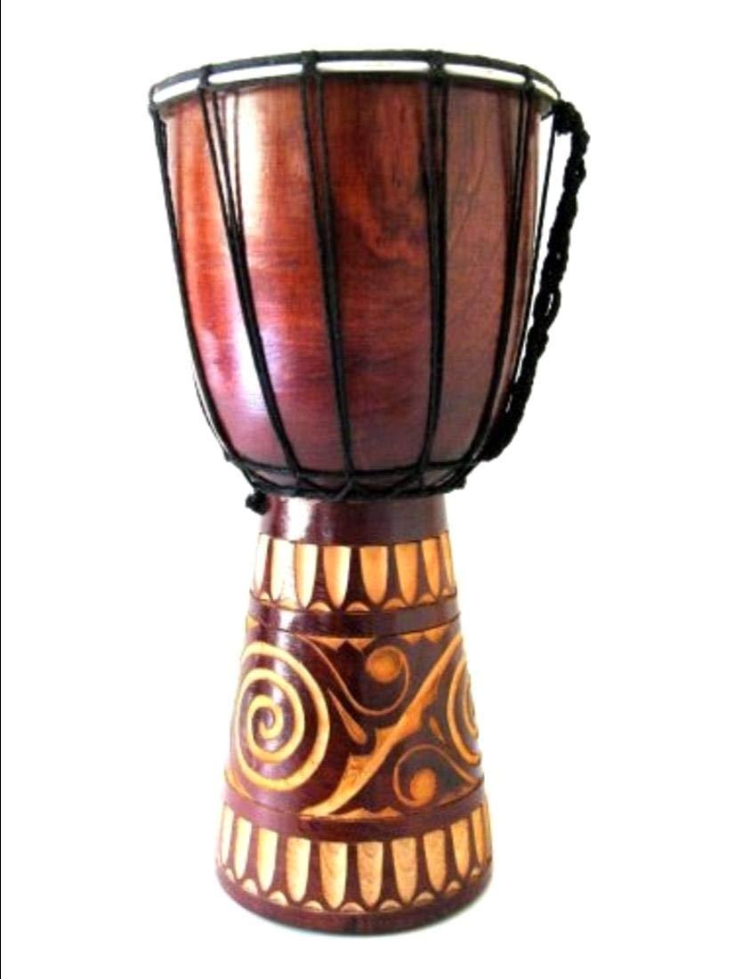 Djembe Drum African Bongo Drum Hand Drum - BRAND, WORLD BAZAAR, Professional Sound, Handpainted by Aromzen