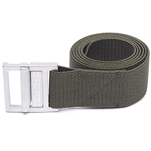Arcade Belt Co. Men's The Guide Belt, Olive, One - Uk Guides Size