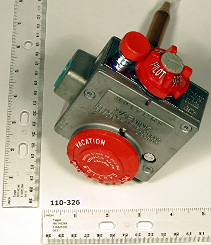 Robertshaw 110-326 Water Heater Thermostat with 1-3/8