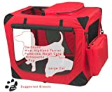 Pet Gear 3 Door Portable Soft Crate, Folds Compact for Travel in Seconds No Tools Required, Comes with Comfort Pad + Storage Bag, Steel Frame, Premium 600D Fabric, Indoor/Outdoor Review