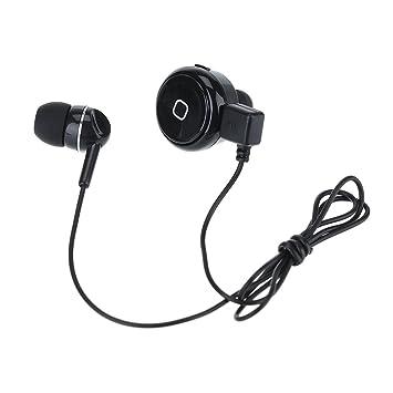 Patuoxun Mini Auricular inalámbrico Bluetooth 4.0 con reducción de ruido manos libres, respuesta de llamada