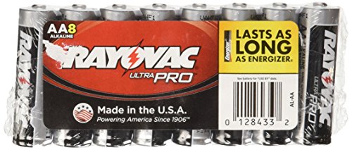 Rayovac Ultra Batteries Size 8 Pack