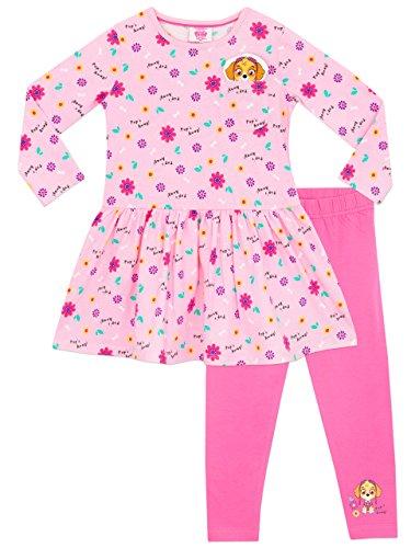 Paw Patrol Girls Dress & Leggings 4]()