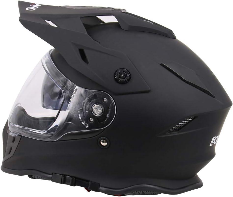 Handschuhe Leopard LEO-X307 Motorradhelm Brille MX Quad ATV Sports Enduro Crash Helm ECE 22.05 Zertifiziert