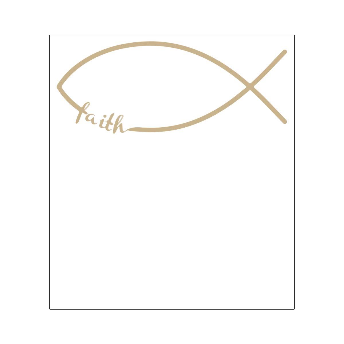 Harataki Jesus Faith Fish Unisex-Baby Newborn Short-Sleeve Bodysuit Rompers