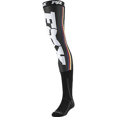 2020 Fox Racing Linc Knee Brace Socks-Black-L: Automotive