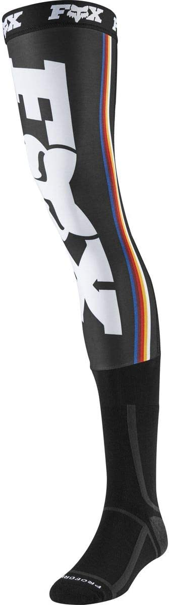 Fox Linc Knee Brace Sock Black