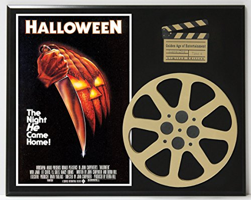 HALLOWEEN MICHAEL MYERS LTD EDITION MOVIE REEL DISPLAY