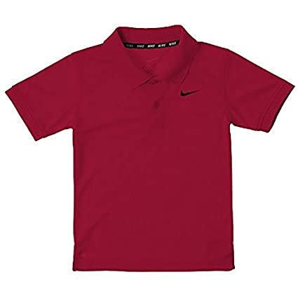 f84d23862a5e3 Nike Toddler Little Boys Dri-fit Polo Shirt - Gym Red