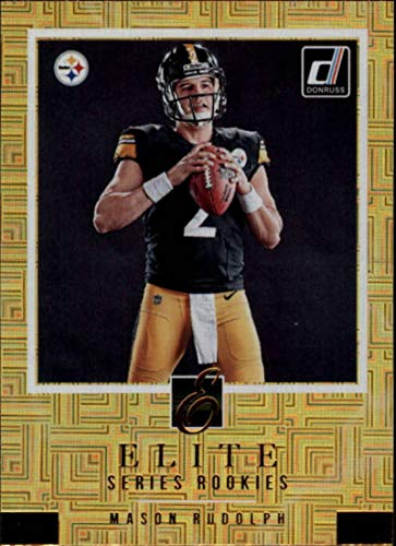 2018 Donruss The Elite Series Rookies Football Card #5 Mason Rudolph NM-MT Pittsburgh Steelers Official NFL Trading ()