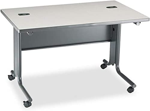 HON 61000 48 by 30 by 29-1 2-Inch Interactive Rectangular Training Table with Casters, Gray