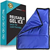 """Gel Cold & Hot Pack - 11x14.5"""" Reusable Warm or Ice"""