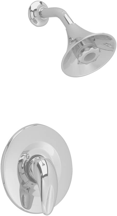 American Standard T385507.295 Reliant 3 Shower Only Trim Kit with Flowise Water Saving Showerhead, Satin