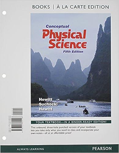 Conceptual Physical Science Books A La Carte Plus