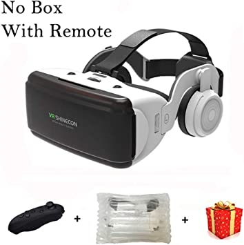 MJTCJY Gafas 3D Lente de Realidad Virtual for iPhone Android ...