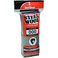 Red Devil 0311 Steel Wool, 000 Extra Fine, 16 Pads by Red Devil