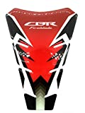 Red Black Motorcycle Protector Gas Fuel Tank Pad Decal Epoxy Sticker for Honda Fireblade All YEARS