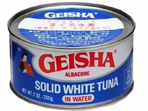 Geisha Solid White Tuna 200gram (6 Cans)