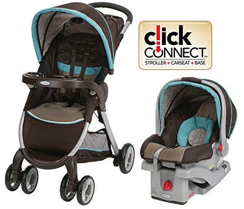 Amazon FastAction Fold Click Connect Travel System Graco Stroller And Car Seat Baby