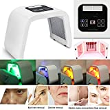 PDT 4 Colors LED Light Photodynamic Facial Skin Care Rejuvenation Photon Therapy Machine US Plug 3-7 Days Shipping
