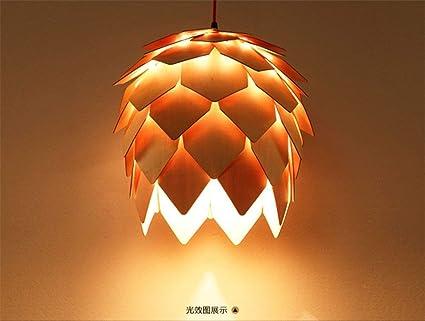 Gzz deng casa illuminazione esterna lampada a sospensione paralume