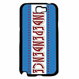 Independence Plastic Phone Case Back Cover Samsung Galaxy Note II 2 N7100