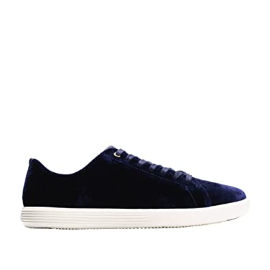Women's Shoes Cole Haan Grand Os 6.5 Blue Suede Sneaker Comfort Shoes