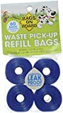 Bags on Board Dog Waste Pick-up Refill Bags, 60 count