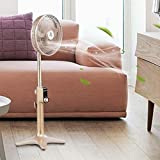 12'' 24-Speed 3 Mode Height Adjustable Remote Control Pedestal Fan