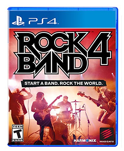 Rock Band 4 - PlayStation 4 - Playstation Guitar For Hero 4